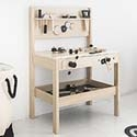 Children's workbench & tools