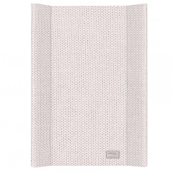 Baby Changing Mat Knitted Print in Beige from Petite Amélie