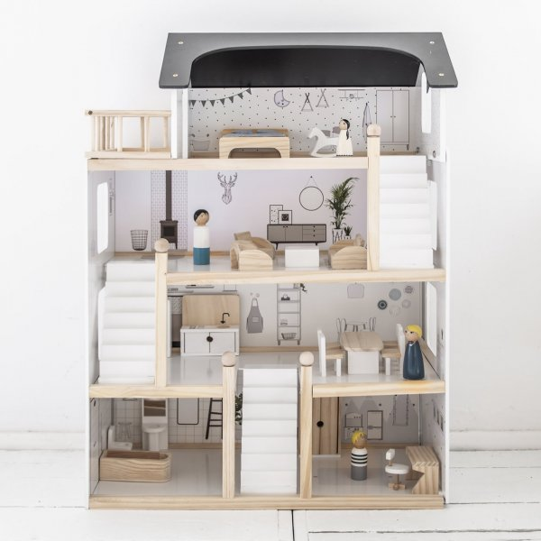 black-and-white-wooden-dollhouse-with-furniture-petite-amelie