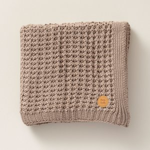 100x150cm_knitted_organic_cotton_taupe_baby_blanket_petite_amelie