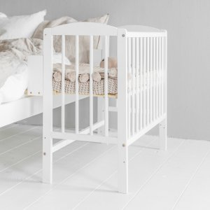 Multi-Functional Bedside Sleeper Crib «Nuage» | White