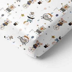 kids-fitted-sheet-white-circus-theme-140x70-petite-amelie-1