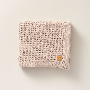 knitted_dusty_pink_80x100_baby_blanket_petite_amelie