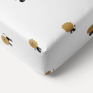 toddler_fitted_sheet_white_lion_print_70x140cm