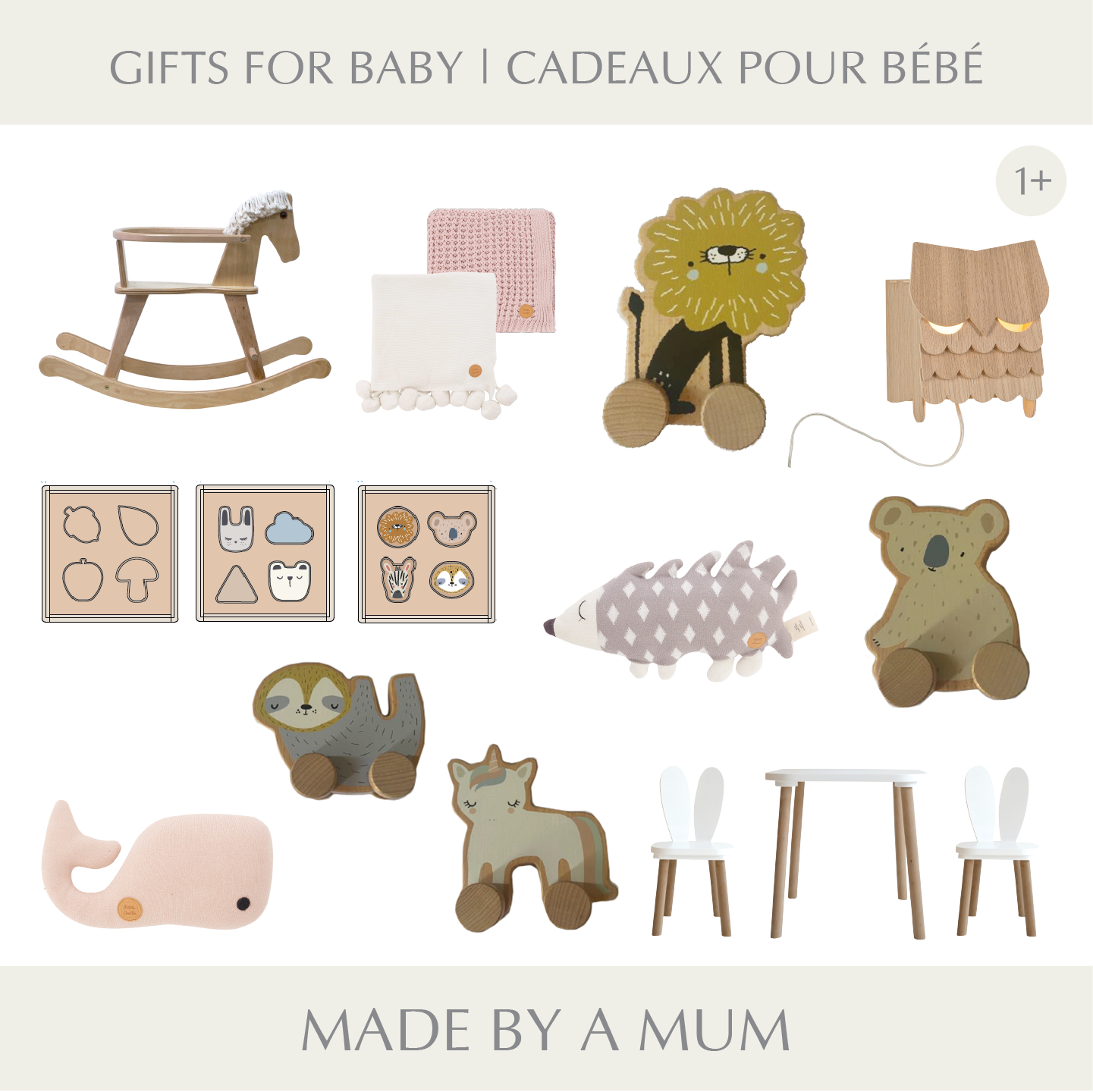 Gift ideas baby toys