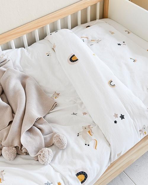 unicorn toddler duvet cover