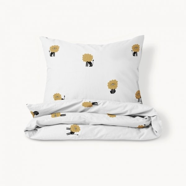 kids bedding with lion print
